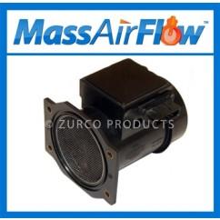 1992-1994 Nissan Maxima SE MAF Sensor