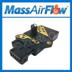 1986-1989 Nissan D21 Pickup MAF Sensor AFH45M-14