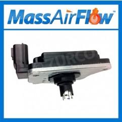1990-1994 Nissan 100 NX MAF Sensor AFH45M46